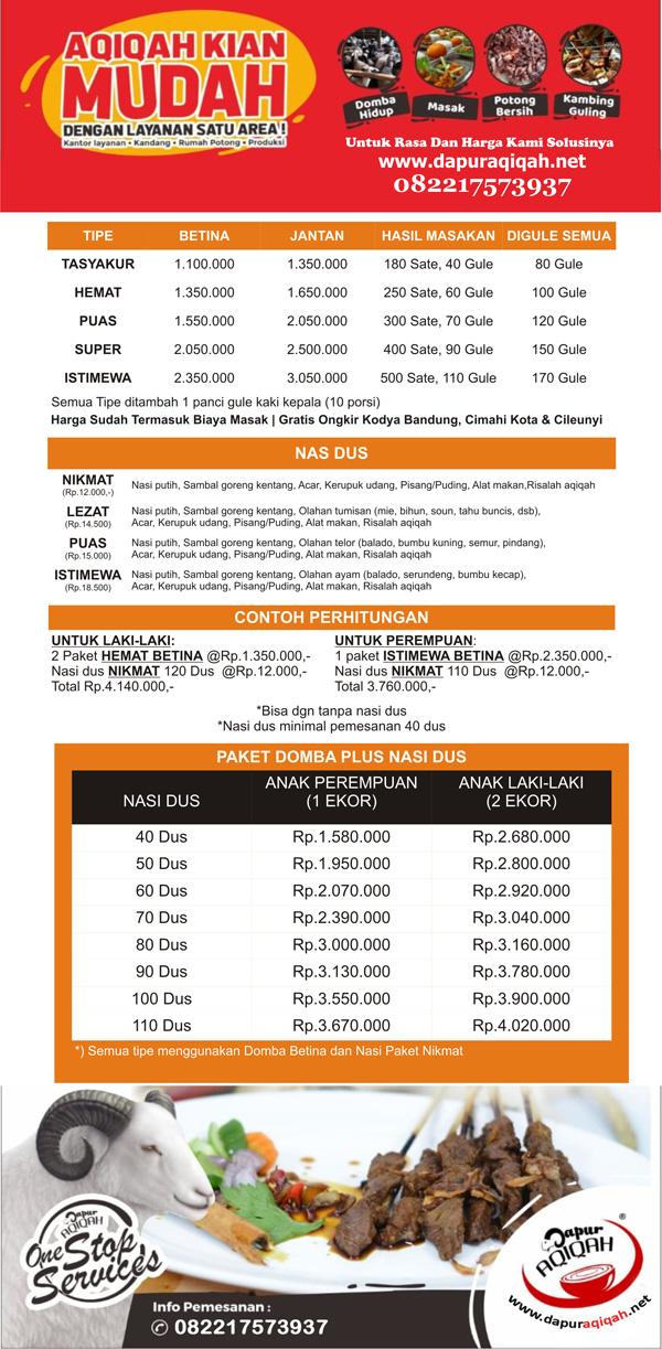 Jasa Aqiqah Cileunyi Bandung - Dapur Aqiqah